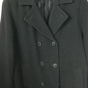 Men's Calvin Klein pea coat. Wool sz: L